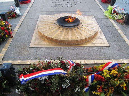 Unknown Soldier's Grave under the Arc de Triomphe