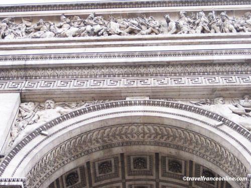 Arc de Triomphe sculpture