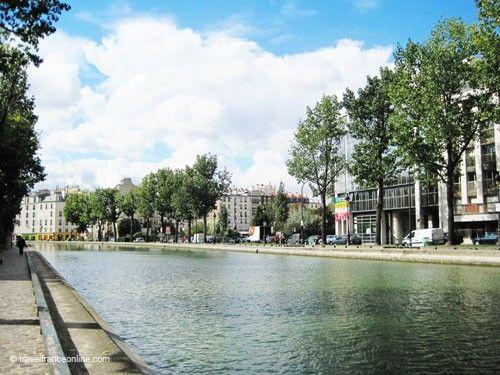 Canal Saint Martin - Along Quai de Jemmapes