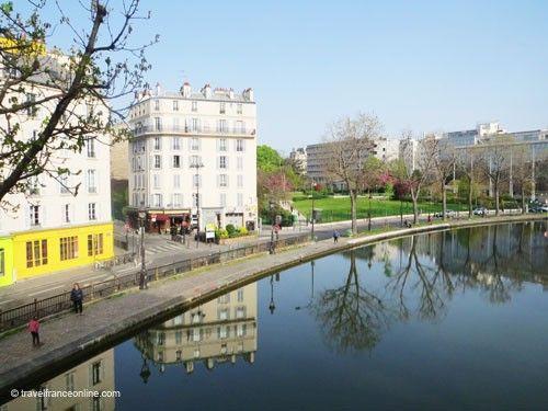 Canal Saint Martin - A gentrified district