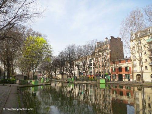 Canal Saint Martin - Near Rotonde de la Villette