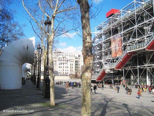Centre Pompidou and Place Georges-Pompidou