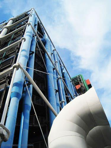 Centre Pompidou - Rue Beaubourg