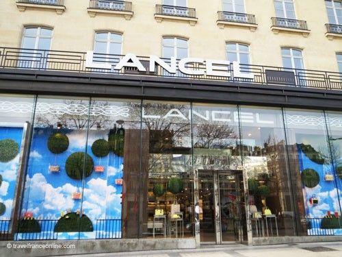Boutique Lancel on Champs Elysees