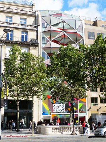 C42 - Citroen flagship store on Champs Elysees