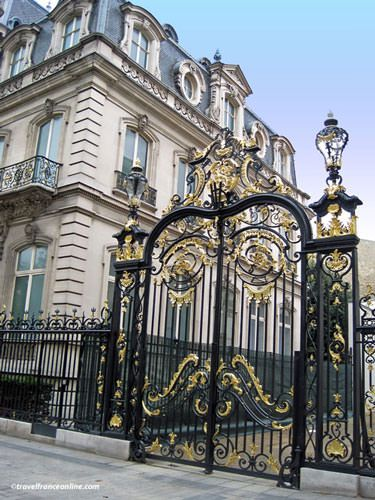 Entrance Hotel Marcle Dassault on Champs Elysees