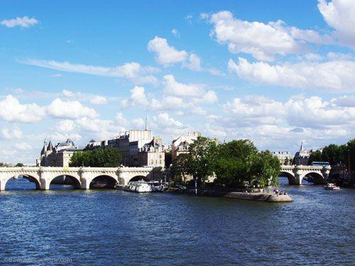 Pont-Neuf and Ile de la Cite