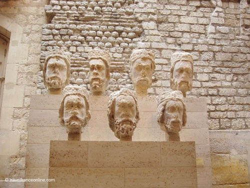 Cluny Museum - Heads of the Kings of Judea