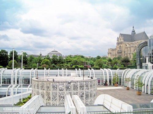 Les Halles before renovation