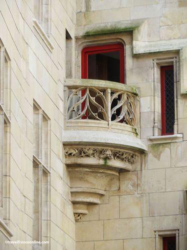 Hotel de Sens - French Renaissance balcony