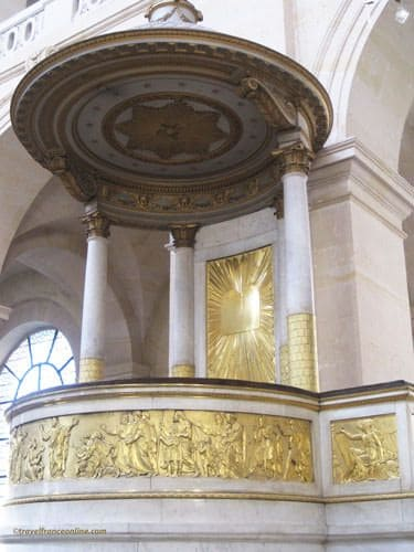 Hotel des Invalides - St-Louis-des-Invalides Church rostrum