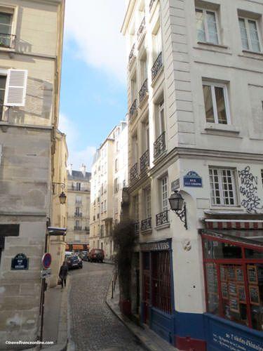 Ile de la Cite - Junction of Rue des Ursins-Rue de la Colombes