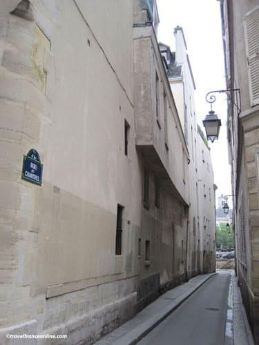 Ile de la Cite - Rue des Chantres