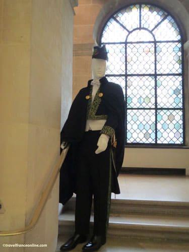 Institut de France - Académicien's uniform