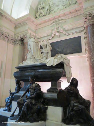 Institut de France - Mazarin's grave