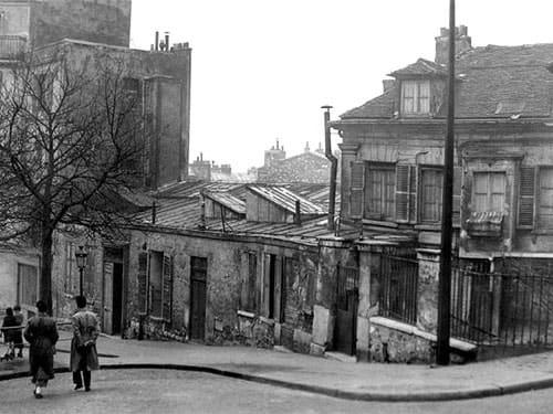 Bateau Lavoir circa 1910 - Place Emile Goudeau