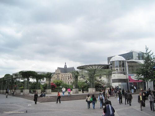 Before renovation in 2010 seen from Place du Bellay