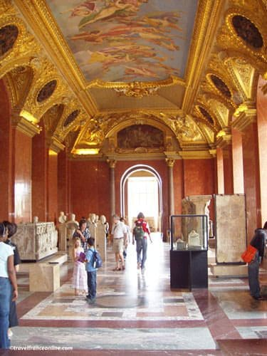 Louvre Museum - Exhibition gallery