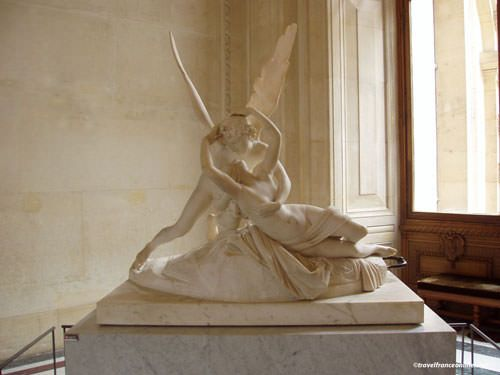 Louvre Museum - Psyche revived by Cupid