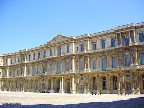 Cour Carree in Louvre Palace