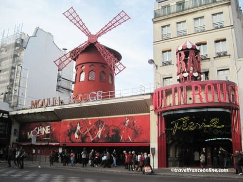 Moulin Rouge today