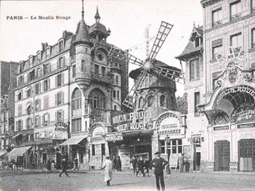 Moulin Rouge in 1900