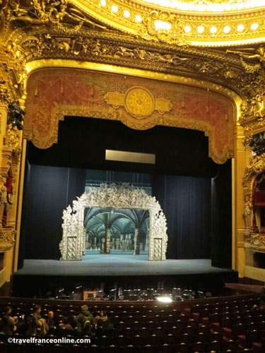 Stage of the Opera Garnier