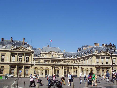 Palais Royal on Place du Palais Royal
