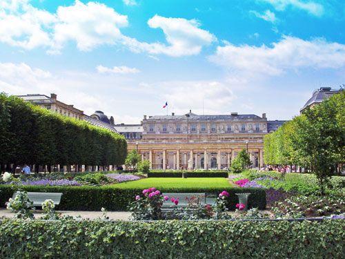 Palais Royal gardens