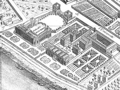 Assemble Nationale - Palais Bourbon in 1739