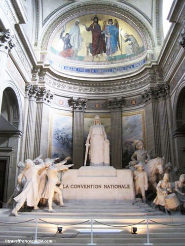 La Convention Nationale by Sicart in the Pantheon