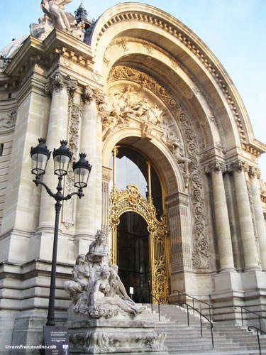 Petit Palais' monumental porch