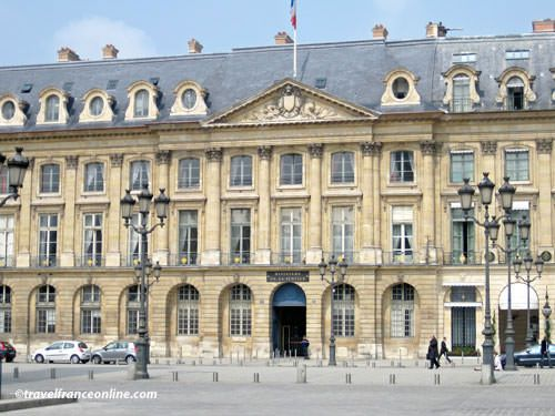 Place Vendome - Ministry of Justice