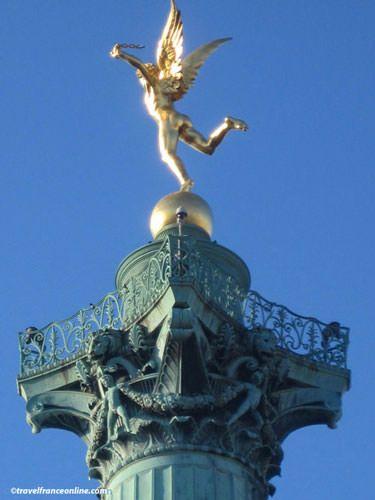Place de la Bastille - Génie de la Bastille