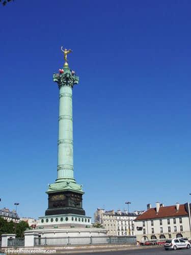 Place de la Bastille - Colonne de Juillet