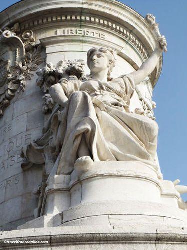 Place de la Republique - Statue of Liberty