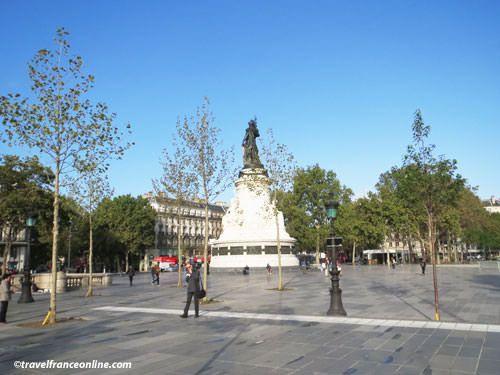 Pedestrian Place de la Republique