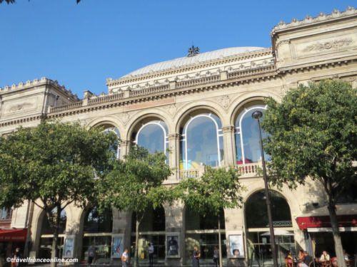 Place du Chatelet - Théâtre du Chatelet