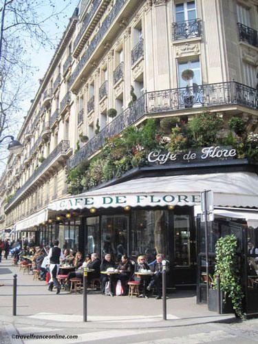 Saint Germain des Pres - Café de Flore