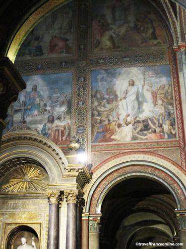 Saint Germain des Pres Church - Murals by Flandrin