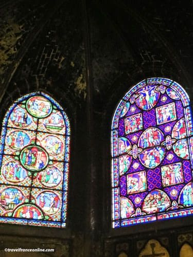 Saint Germain l'Auxerrois Church - 19th century stained-glass windows
