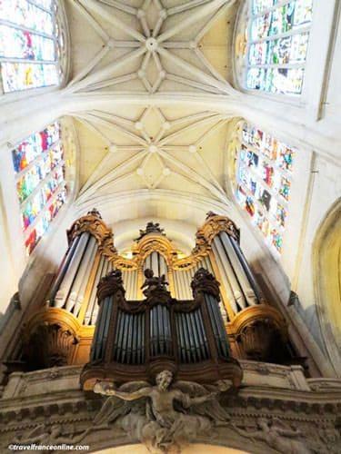 Saint Gervais Saint Protais Church - Great organ