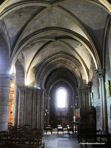 Saint Julien le Pauvre Church ambulatory