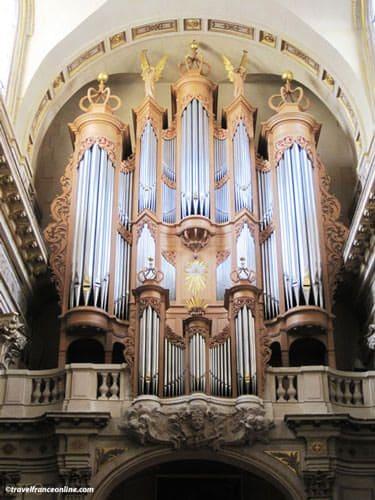 Saint Louis en l'Isle Church - organ