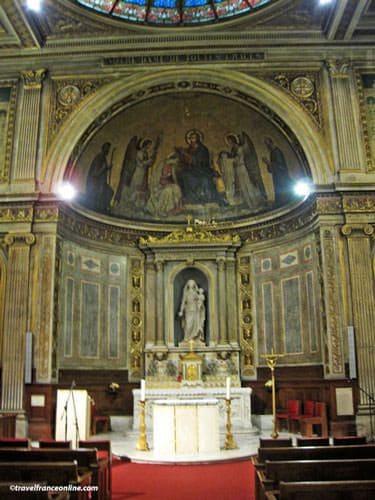 Chapelle de la Vierge in Saint-Philippe-du-Roule Church
