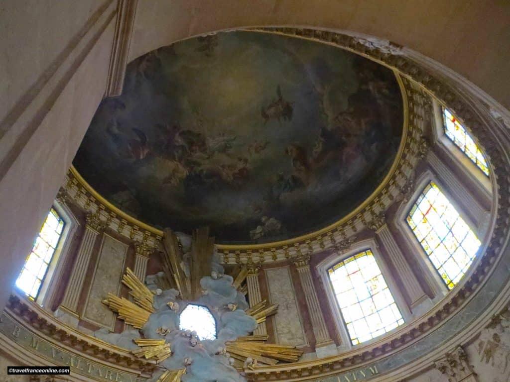 Saint Roch Church - Chapelle de la Vierge cupola