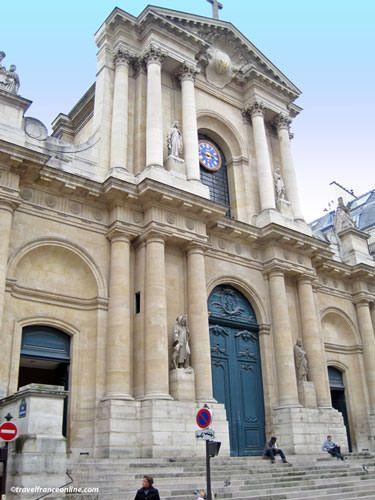 Saint Roch Church - Main facade on Rue Saint Honoré