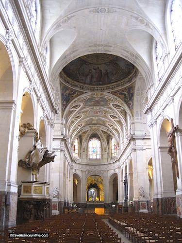 Saint Roch Church, one of Paris' largest churches
