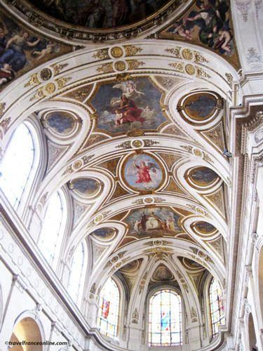 Saint Roch Church - Painted ceilings