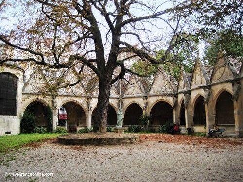 Saint Severin Church - Former charnel house and public garden